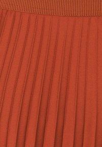 More & More - SKIRT MIDI - A-line skirt - terracotta - 2