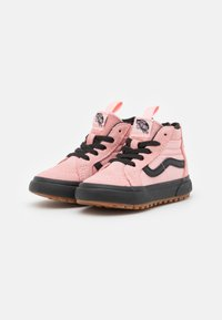 Vans - SK8 ZIP MTE-1 - High-top trainers - powder pink/black - 1