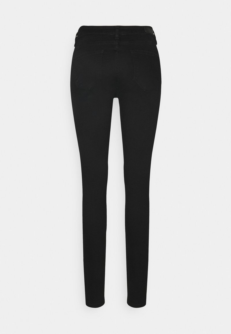 Esprit SHAP - Jeans Skinny Fit - black rinse/black denim BxF3iU