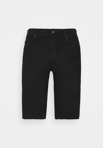 LEXY TALL BICYCLE - Shorts di jeans - black