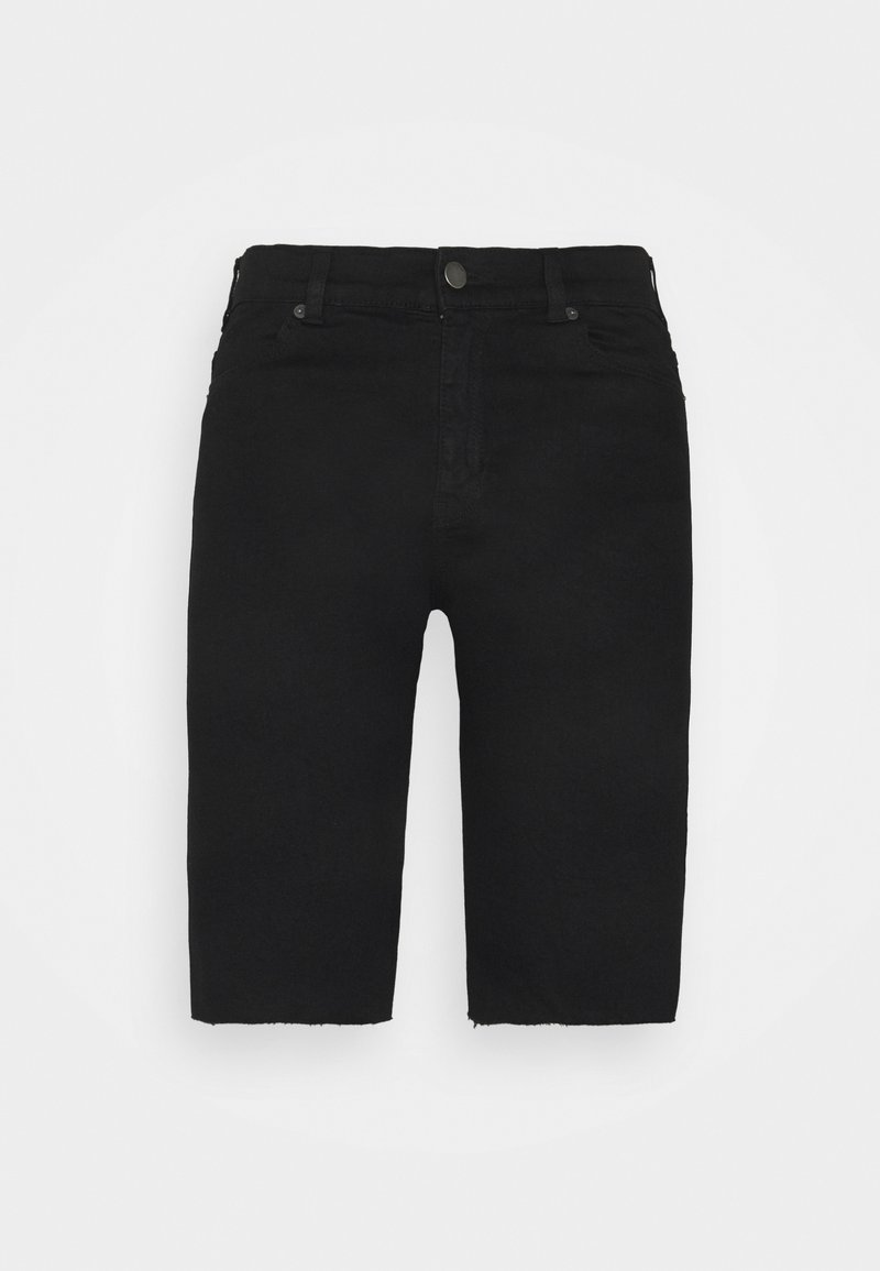 Dr.Denim Tall - LEXY TALL BICYCLE - Shorts di jeans - black