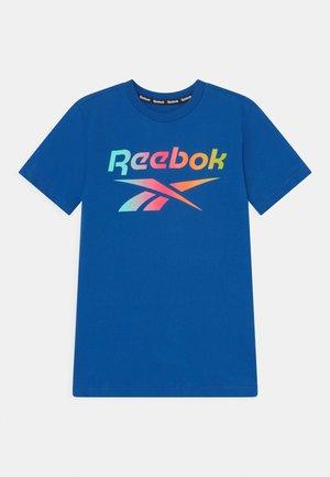 RAINBOW LOGO TEE UNISEX - Print T-shirt - royal blue