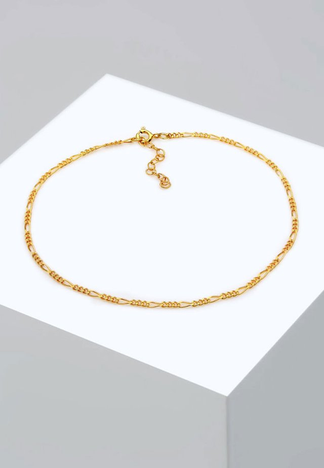 FUSSSCHMUCK FIGAROKETTE - Armband - gold-coloured