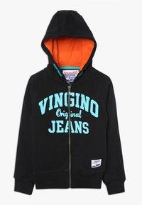 Vingino - OKAY - Zip-up hoodie - deep black - 0