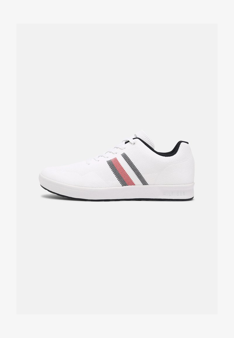 Tommy Hilfiger - SUSTAINABLE CUPSOLE STRIPES - Sneakers - white