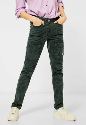CAMOUFLAGE - Cargo trousers - grün