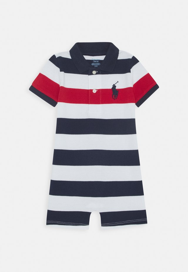 ONE PIECE SHORTALL - Sleep suit - newport navy