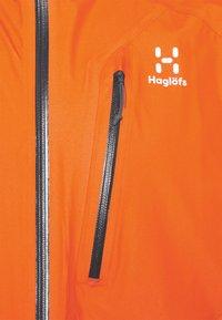 Haglöfs - JACKET MEN - Hardshelljacka - flame orange - 4