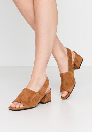 ELENA - Sandals - caramel