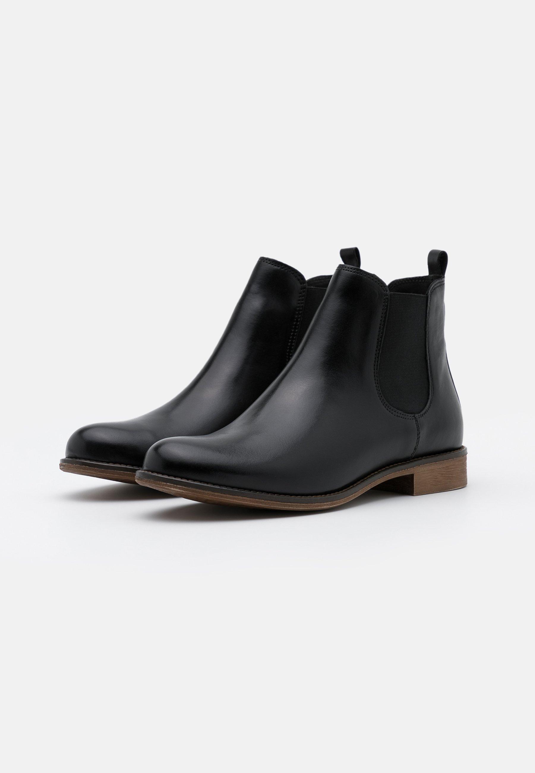 Anna Field Leather - Ankle Boot Black/schwarz