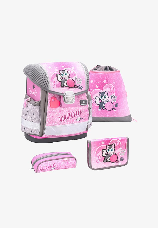 SET - School set - pink/anthracite