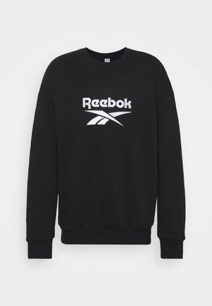 VECTOR CREW - Sweater - black