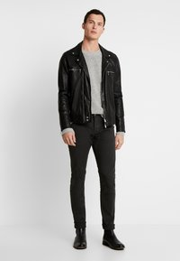 Scotch & Soda - Slim fit jeans - charcoal - 1