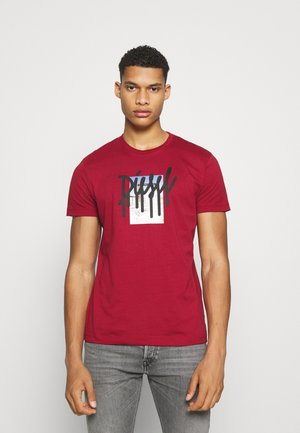 DIEGOS - Print T-shirt - red