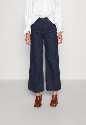 2ND FRECLA  - Flared Jeans - dark blue