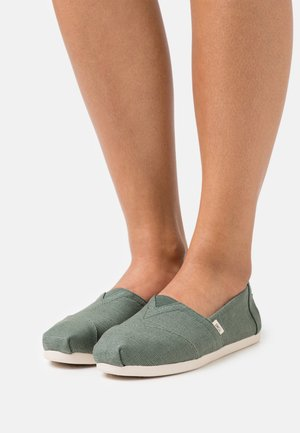ALPARGATA - Slip-ons - bonsai green