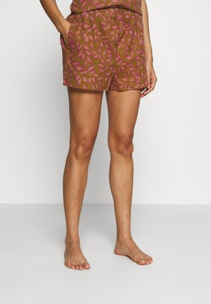 ABBIE - Pyjama bottoms - brown/pink