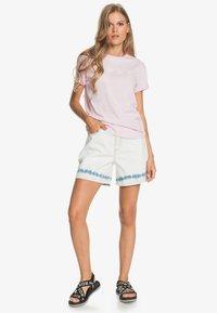 Roxy - Print T-shirt - pink mist - 1