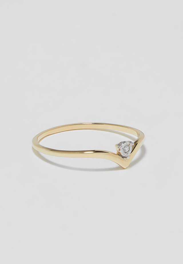 Engagement Ring - Anello - gold-coloured