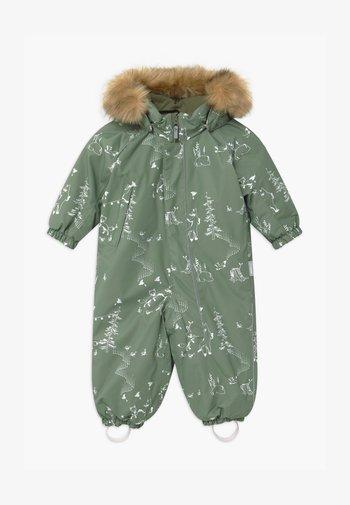 REIMATEC WINTER LAPPI UNISEX - Snowsuit - greyish green