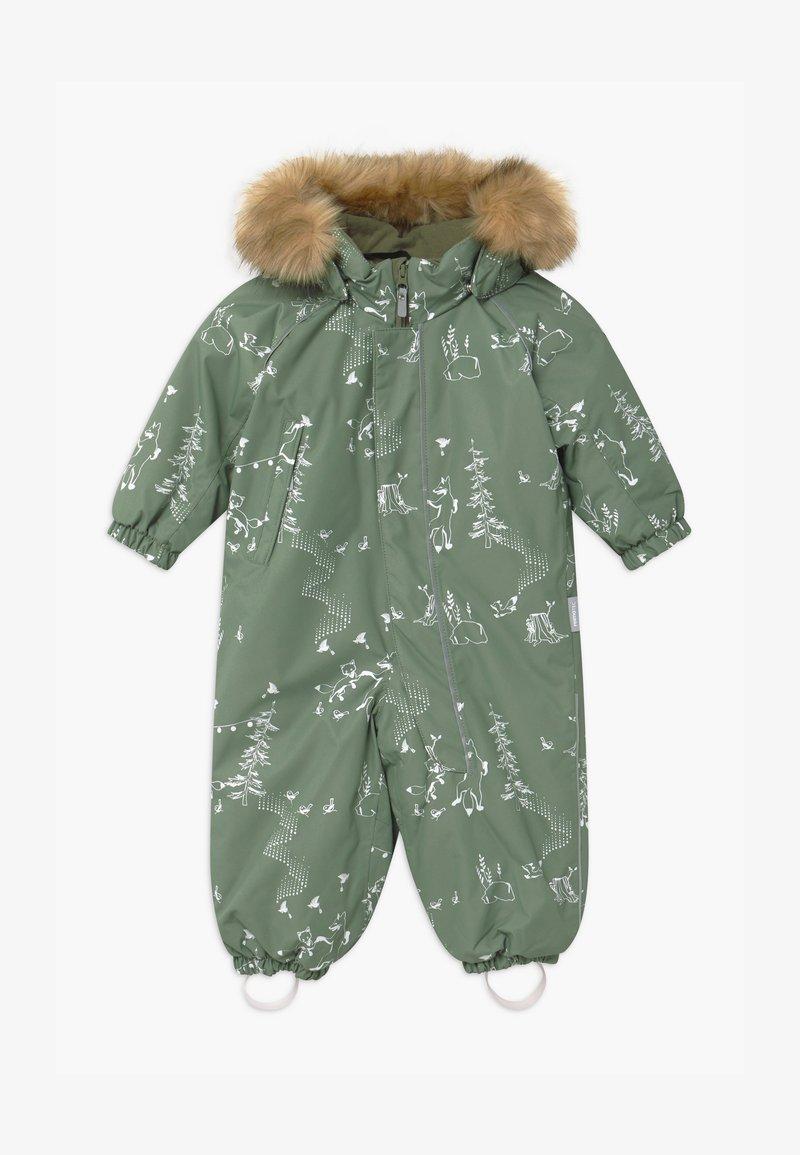 Reima - REIMATEC WINTER LAPPI UNISEX - Snowsuit - greyish green