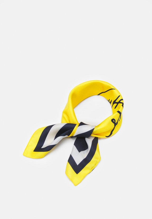 SIGNATURE FOULARD - Šátek - yellow