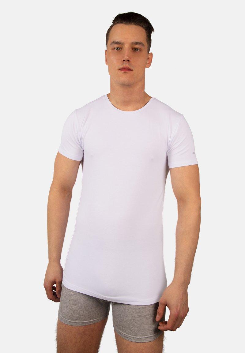 Bandoo Underwear - 2PACK - Undershirt - white,white