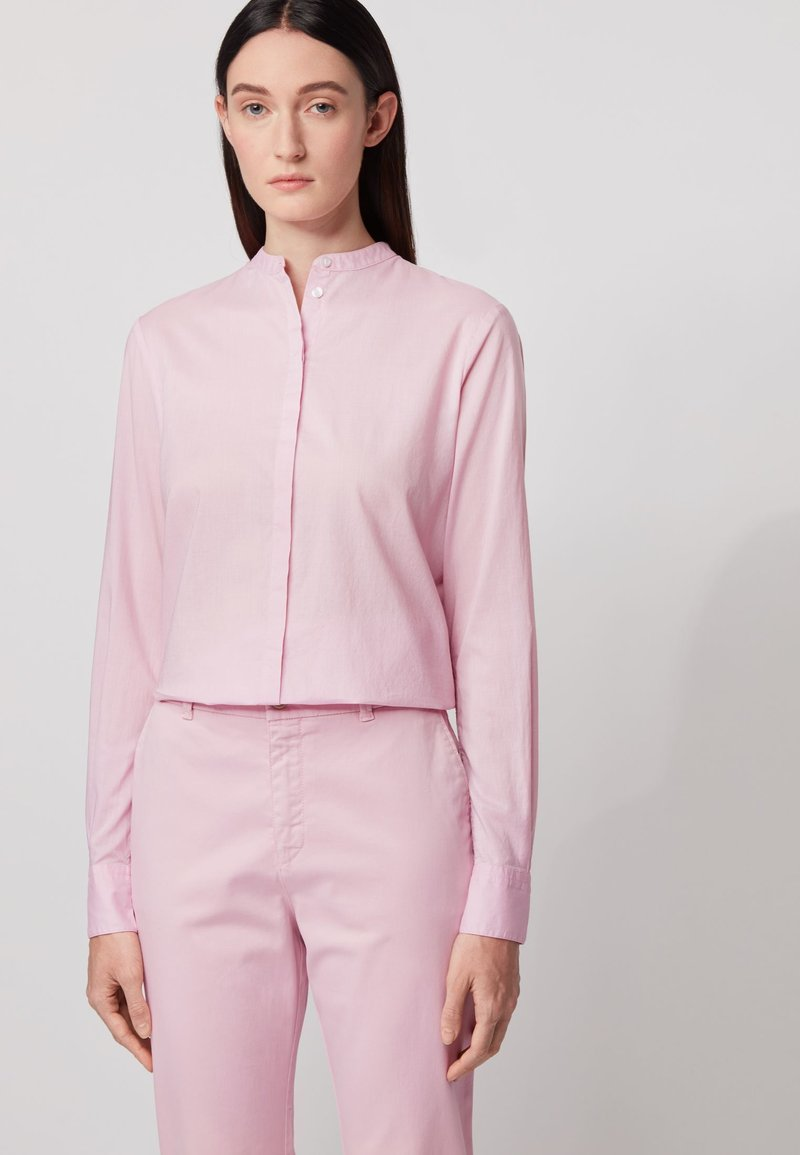 BOSS - EFELIZE - Button-down blouse - light purple