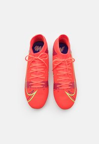 Nike Performance - MERCURIAL 8 ACADEMY FG/MG - Moulded stud football boots - bright crimson/metallic silver - 3