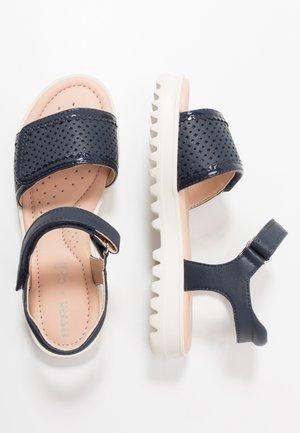 CORALIE - Sandals - navy