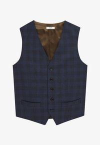Van Gils - Suit waistcoat - blue - 4