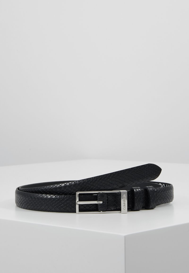 Calvin Klein - WINGED BELT - Riem - black