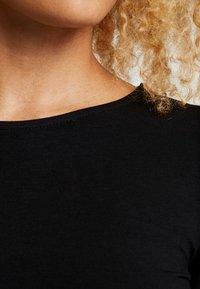Even&Odd Petite - 2 PACK - Long sleeved top - tan/black - 5
