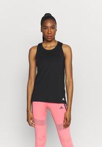 adidas Performance - Sportshirt - black/white - 0