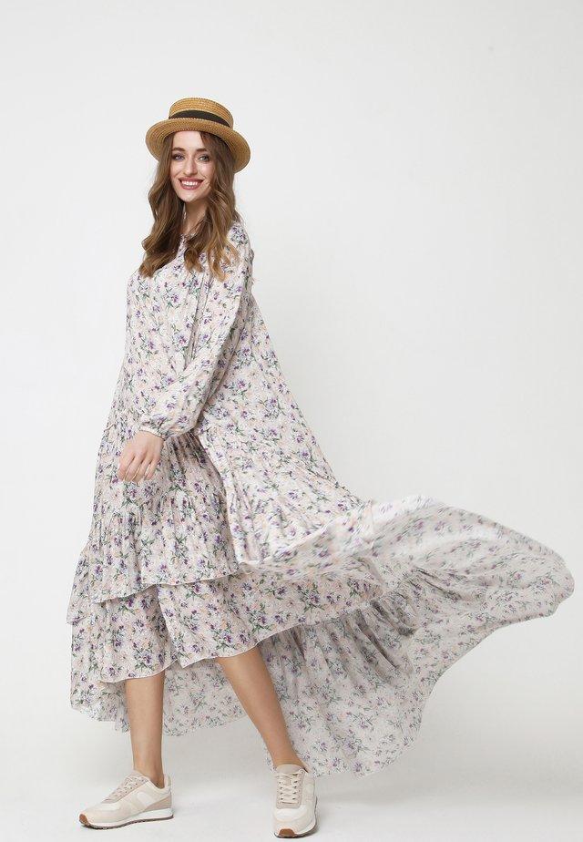 ANINA - Robe d'été - grau, khaki