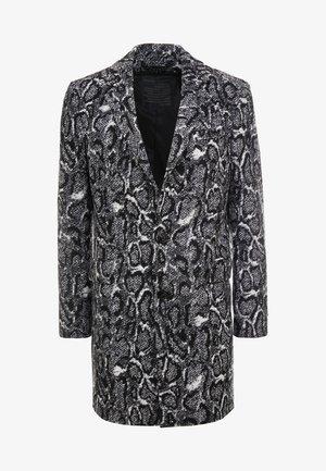 BLACOT - Manteau classique - black/white
