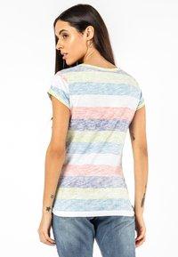 Sublevel - Print T-shirt - yellow - 1