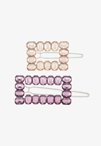 LIARS & LOVERS - RECTANGLE 2 PACK - Haaraccessoire - lilac - 3