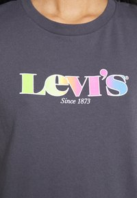 Levi's® - THE PERFECT TEE - T-shirt con stampa - blackened - 4