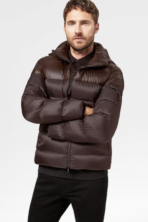 ANDY - Down jacket - dunkelbraun