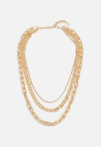 LIARS & LOVERS - CHUNKY CHAIN MUTLIROW - Smykke - gold-coloured - 0