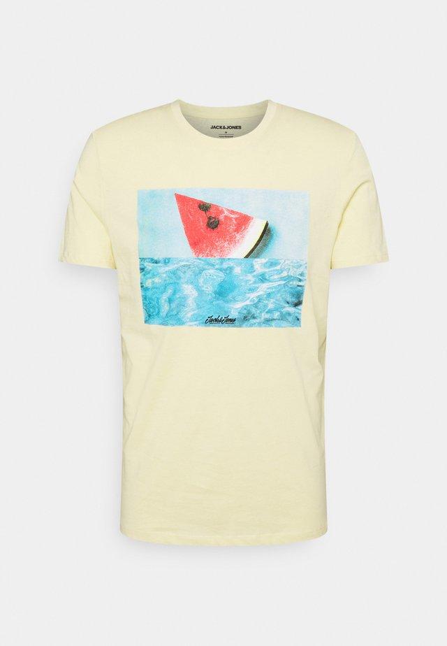 JJSUMMER TEE CREW NECK - T-shirts print - flan