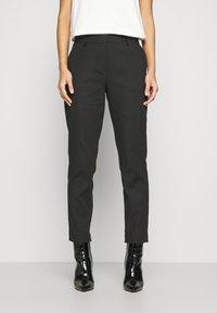 Marc O'Polo - TORUP - Trousers - black - 0