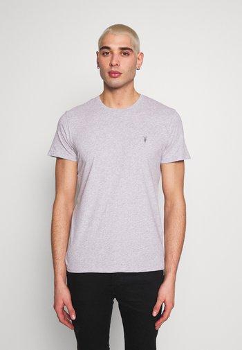 TONIC CREW 3 PACK - Basic T-shirt - optic/black/grey