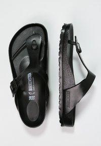 Birkenstock - GIZEH - Pool shoes - black - 1