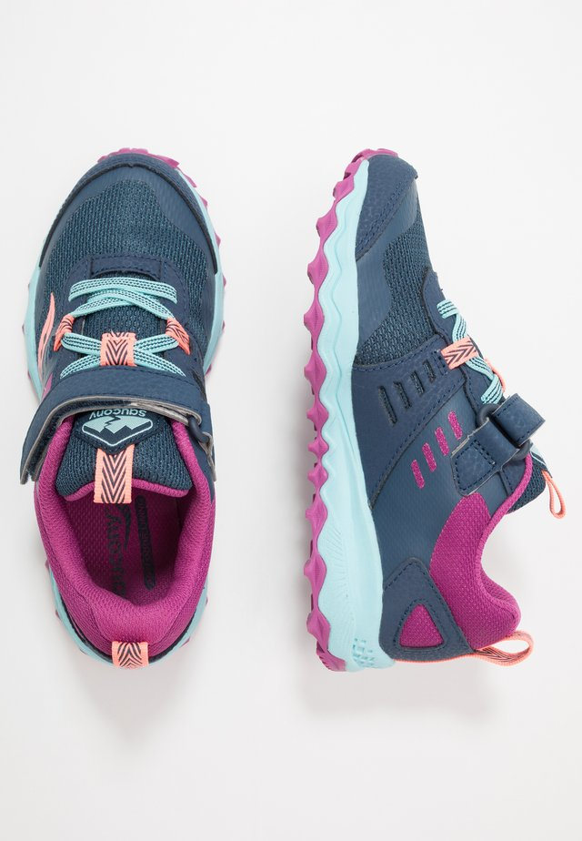 PEREGRINE - Trainers - navy/purple/turquoise