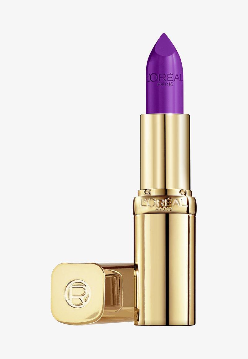 L'Oréal Paris - COLOR RICHE SATIN - Lipstick - 142 bonjour bastille