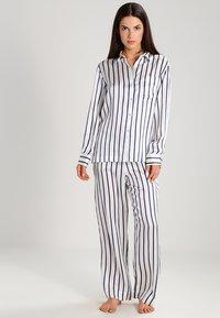 ASCENO - Pantaloni del pigiama - navy - 1