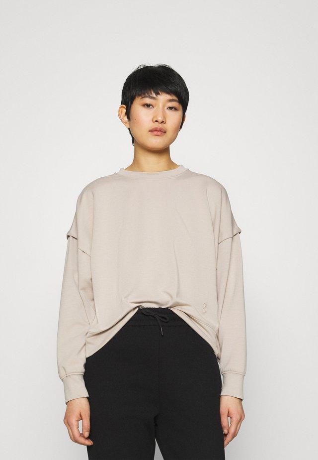 CHRISDA - Sweatshirt - beige
