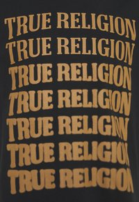 True Religion - DESCENDING ARCH CREW TEE - Printtipaita - black - 2